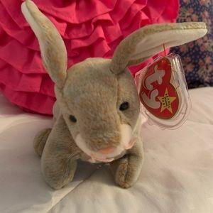 """Ty Beanie Baby Bunny """"Nibbly""""  NWT"""
